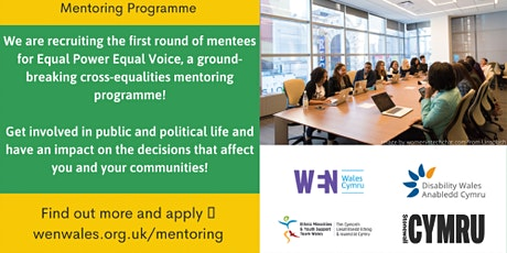 Equal Power Equal Voice Mentoring Programme Q & A Sessions tickets