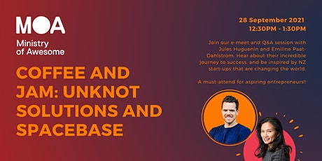 Coffee & Jam September: Unknot Solutions and Spacebase tickets