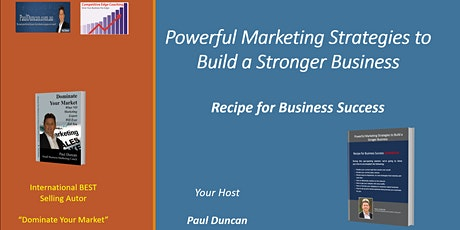 {Live Event}Powerful Marketing Strategies to Build a Stronger Business tickets