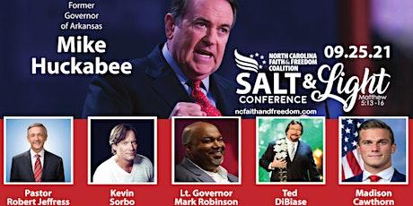 NC Faith & Freedom Salt & Light Conference tickets