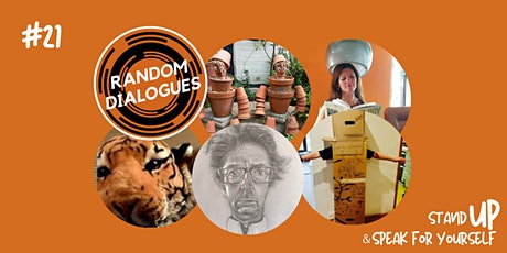 """Random Dialogues """"Stand UP & Speak For Yourself"""" October Event #22 tickets"""