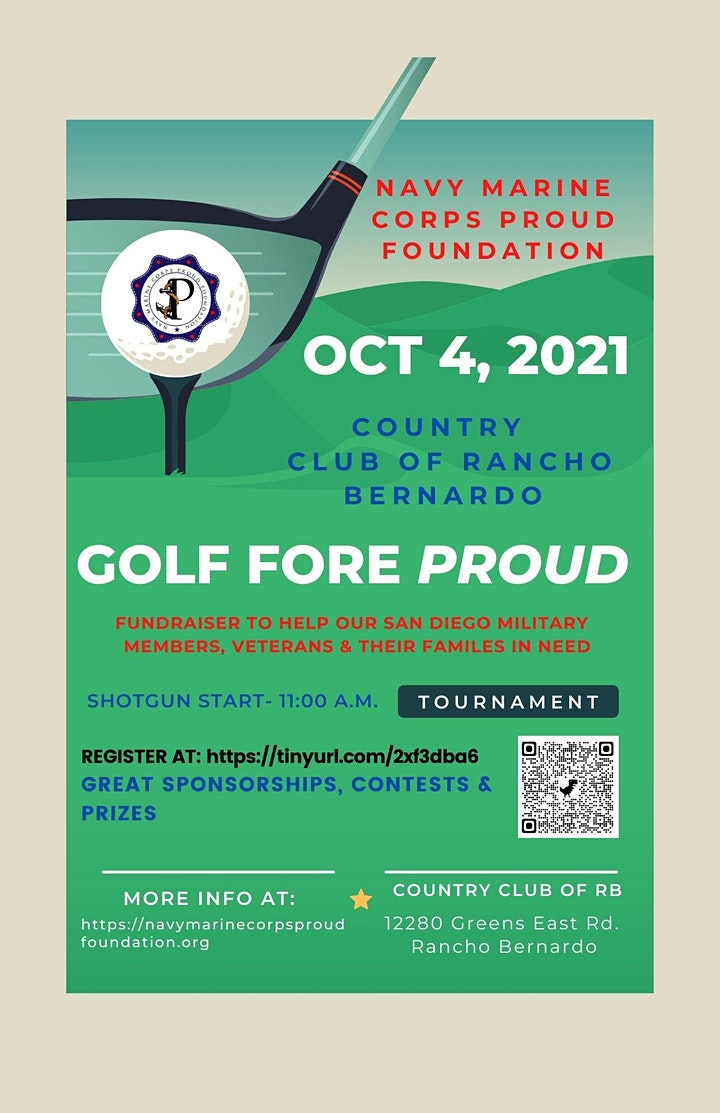 2nd Annual Golf Fore PROUD Charity Tournament image