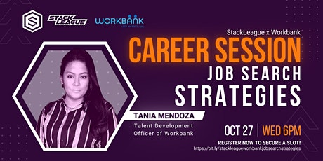 StackLeague x WorkBank Career Session: Job Search Strategies tickets