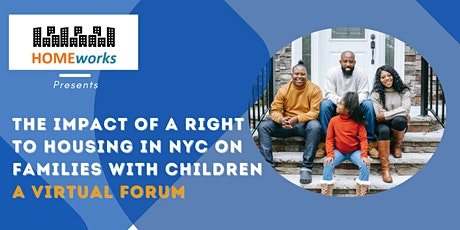 The Impact of a Right to Housing in NYC on Families with Children tickets