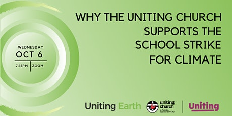 Why the Uniting Church Supports the School Strike for Climate tickets