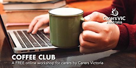 Carers Victoria Coffee Club Online - Book Club #8380 tickets