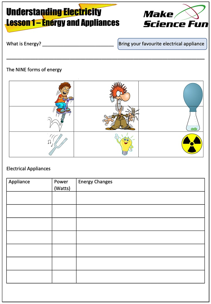 Understanding Electricity - Online Course with Jacob - Ages 11 to 15 image