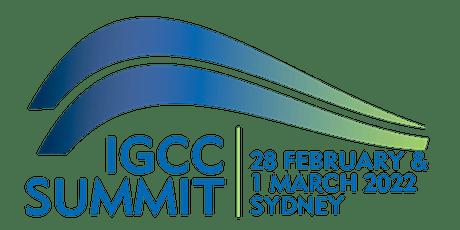 IGCC 2022 Climate Change Investment & Finance Summit tickets