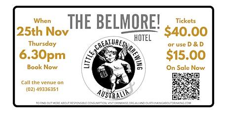 Little Creatures Beer Dinner tickets