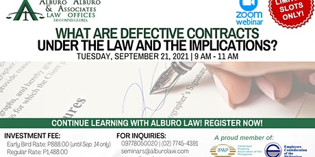 What are Defective Contracts under the Law and the Implications? ingressos