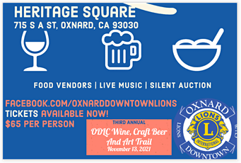 3rd Annual Wine, Craft Beer and Art Trail tickets