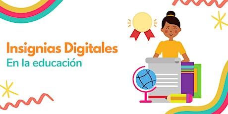 Insignias digitales en la educación boletos
