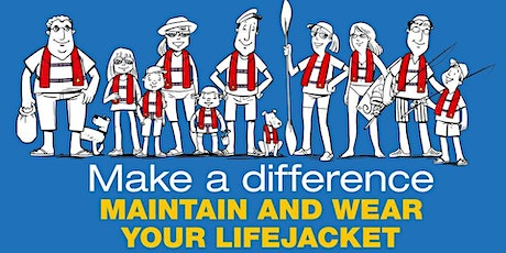 Make a Difference - Maintain & Wear your Lifejacket BUSSELTON Marine Rescue tickets