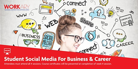 Student Social Media Classes for Business and Careers tickets