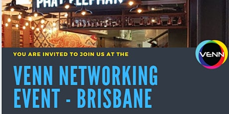 VENN Networking Event - 23 September, 2021 - Phat Elephant, Brisbane tickets