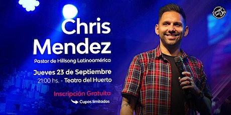 Chris Mendez en Salta entradas