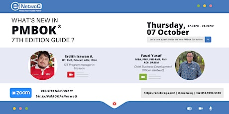 What's New in PMBOK 7th Edition Guide ? tickets