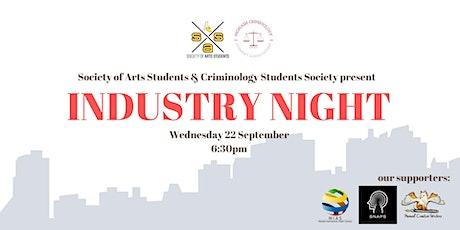 SAS x CSA Present: Industry Night tickets