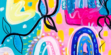 Abstract Canvas Painting tickets