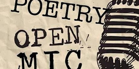Poetry open mic night tickets