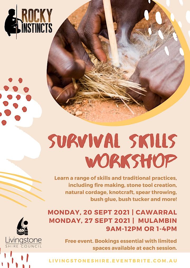 Rocky Instincts Survival Skills Workshops - Mulambin image