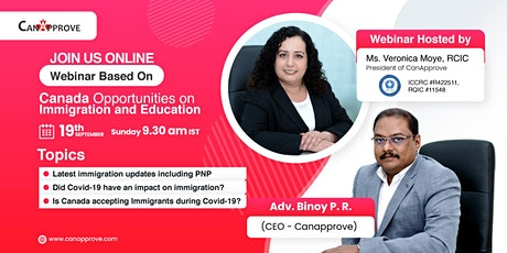 Free Immigration and overseas Education Webinar tickets