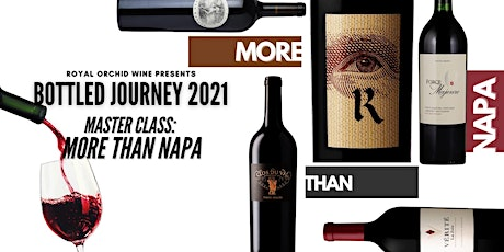 Bottled Journey 2021 Masterclass - US Cabernet: More than Napa tickets