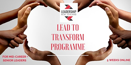 LEAD TO TRANSFORM 2021(Operational Leadership) tickets