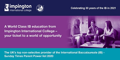Impington International College Open Evening (2022 entry) tickets