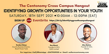 Identifying Growth - The Centonomy Cross Campus Hangout tickets