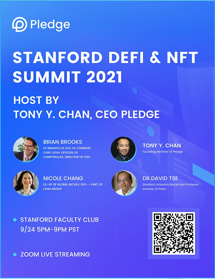 Defi & NFT Summit 2021 at the Stanford Faculty Club image