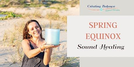 Free Spring Equinox Sound Healing tickets