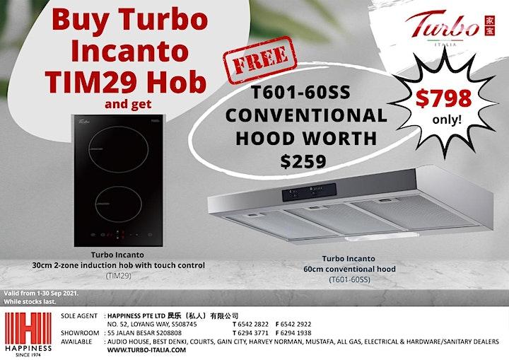 [Turbo Hob and Hood Promo] FREE Turbo Incanto T601-60SS Hood (T&Cs apply)! image