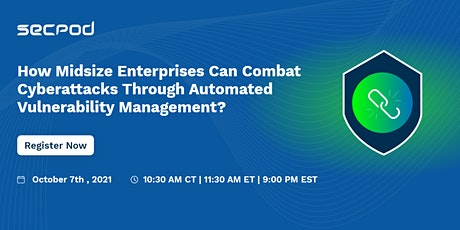 How can SMEs combat cyberattacks through automated vulnerability management tickets