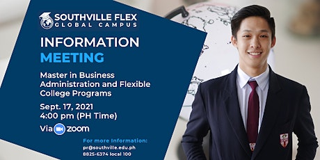 Information Meeting on MBA and Southville FLEX Program tickets