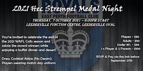 2021 Hec Strempel Awards tickets