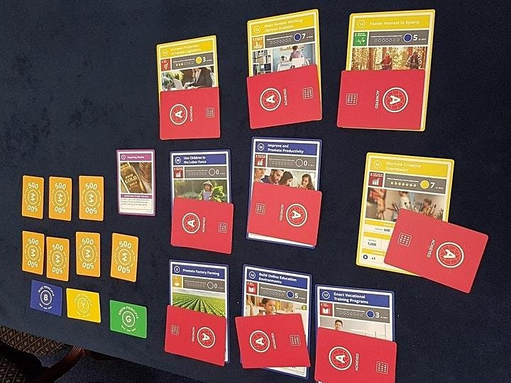 DI*Encompass HK SDGs Game桌遊初體驗 : 玩出2030年可能的世界樣貌 image