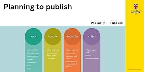 Planning to Publish Pillar Two: Publish tickets