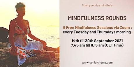 6 Free  Online Mindfulness Rounds ingressos