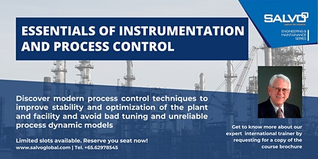 Essentials of Instrumentation and Process Control Masterclass tickets