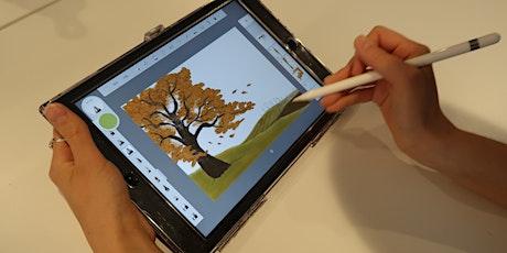 Atelier Cré@ : Cartes postales d'automne billets