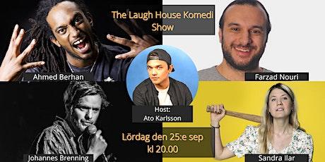 The Laugh House Ståupp Komedi 25:e september tickets