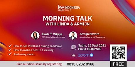 [Webinar] Mega Camp 2021 Take Away : MORNING TALK with LINDA & ARMIJN tickets