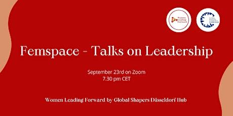 Femspace - Talks on Leadership biglietti