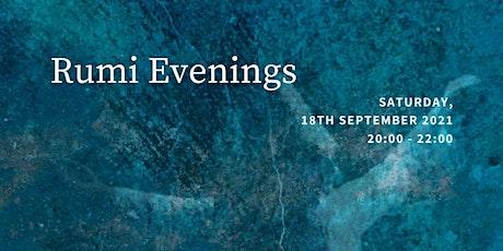 A Rumi Evening tickets