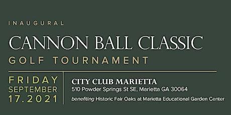 Cannonball Classic Marietta Educational Garden Center Tournament tickets