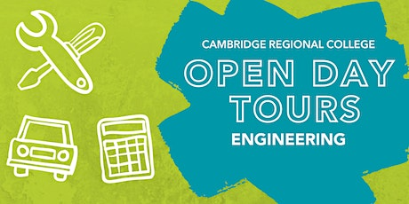 Engineering Open Day Tours tickets