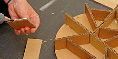 Visit'active - Je fabrique mon tabouret en carton billets