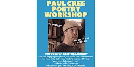 Paul Cree Poetry Workshop tickets