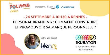 Personal Branding : construire et promouvoir sa marque personnelle billets